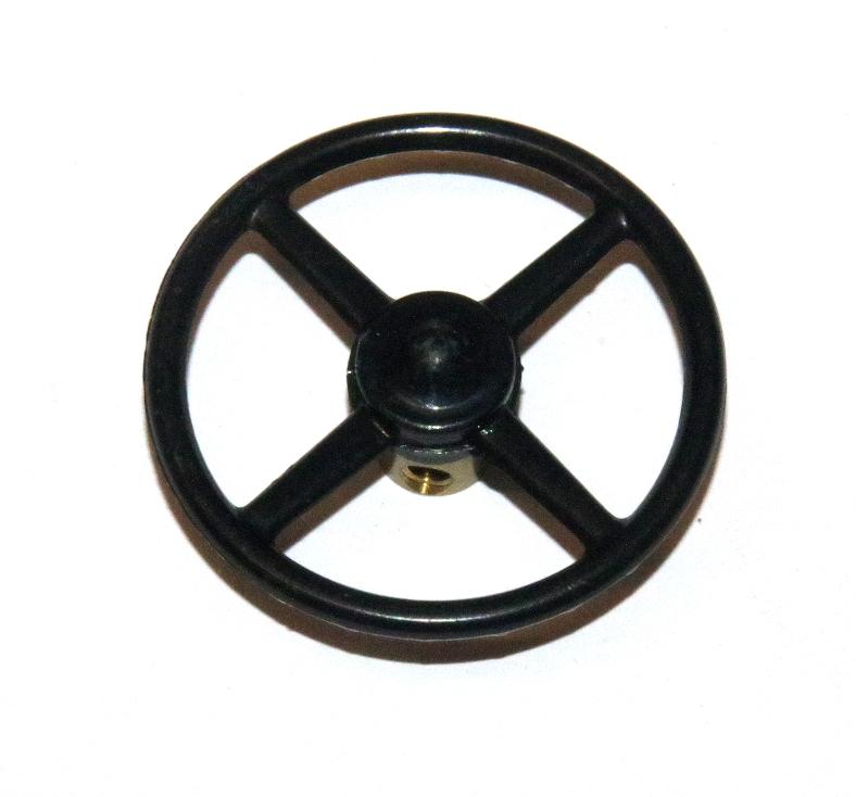 Plastic Steering Wheel : Steering wheel ¾ quot black plastic original