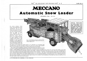 L11 10.11 Automatic Snow Loader