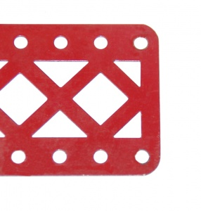 100aDC Double Braced Girder 9 Hole Mid Red Original