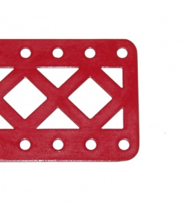 99aDC Double Braced Girder 19 Hole Mid Red Repainted