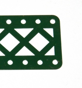 100DC Double Braced Girder 11 Hole Dark Green Original