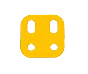 103L Flat Girder 2 Hole French Yellow Original