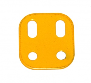 103L Flat Girder 2 Hole UK Yellow Original