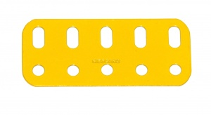103f Flat Girder 5 Hole French Yellow Original