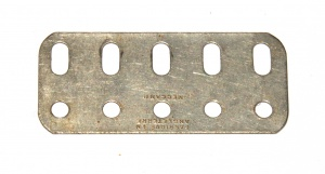 103f Flat Girder 5 Hole Nickel Original