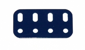 103g Flat Girder 4 Hole Dark Blue Used