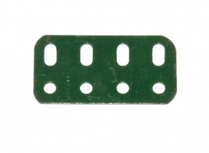 103g Flat Girder 4 Hole Dark Green Original