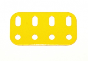 103g Flat Girder 4 Hole French Yellow Original