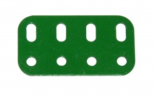 103g Flat Girder 4 Hole Light Green