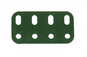 103g Flat Girder 4 Hole Metallus Green