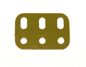 103h Flat Girder 3 Hole Army Green Original