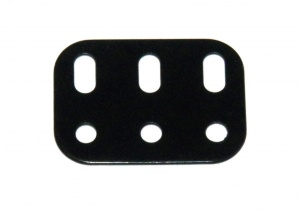 103h Flat Girder 3 Hole Black Original