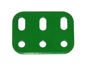 103h Flat Girder 3 Hole Light Green