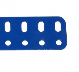 103c Flat Girder 9 Hole Blue Original