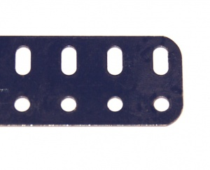 103b Flat Girder 25 Hole Dark Blue Original