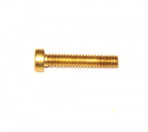 111 Slotted Cheesehead Bolt ¾'' (19mm) Brass