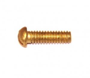 111a Slotted Dome Head Bolt ½'' (13mm) Brass Original