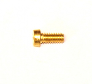 111b Slotted Cheesehead Bolt 5/16'' (8mm) Brass