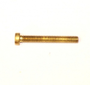 111d Slotted Cheesehead Bolt 1 1/8'' (29mm) Brass