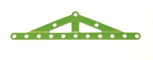 113 Girder Frame Stepped Light Green Original