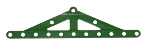 113 Girder Frame Stepped Mid Green Repainted Original