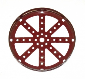 118 Hub Disk 5½'' Dark Red Original