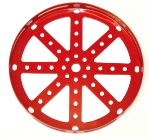 118 Hub Disk 5½'' Red