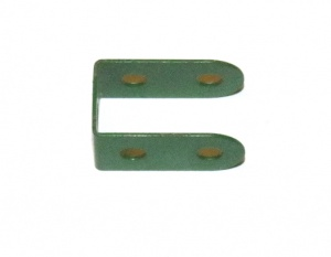 11a Double Bracket 2x1x2 Mid Green Repainted