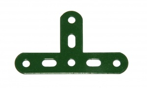 127a T Connector 3x3x3 Green