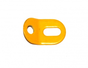 12c Obtuse Angle Bracket 1x1 UK Yellow Original