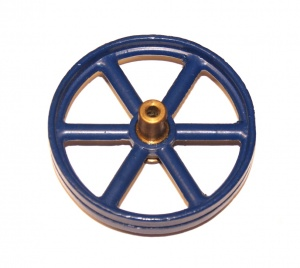 132 Flywheel Blue Reproduction