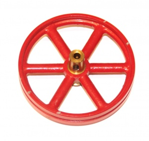 132 Flywheel Red Original