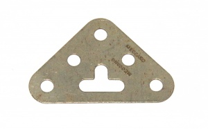 133 Corner Bracket 3x3 Nickel Original