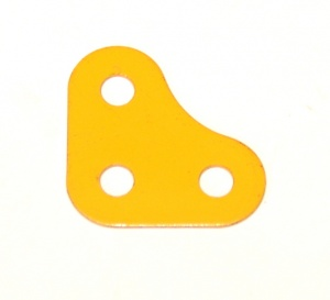 133a Corner Bracket 2x2 UK Yellow Original