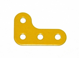 133b Corner Bracket 3x2 UK Yellow Original
