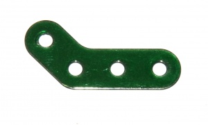 133c Obtuse Corner Bracket 3x2 Iridescent Green Original