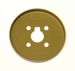 137 Wheel Flange 2 1/8'' Army Green Original