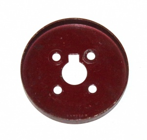 137 Wheel Flange 2 1/8'' Dark Red Original