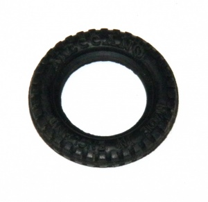 142c Tyre 1'' Black Rubber Original