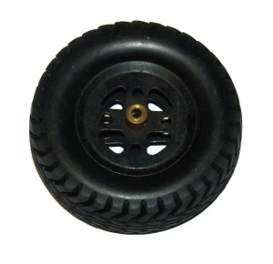 142w Rubber Tyre 3½'' Diameter Used