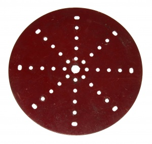 146 Circular Plate 6'' Dark Red Original