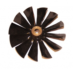 157 Fan 2'' Black Original