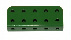 160a Channel Bearing 5x2x1 Green