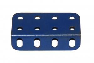 161 L Girder 4 Hole French Blue Original