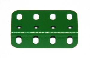 161 Girder Bracket 4 Hole Light Green