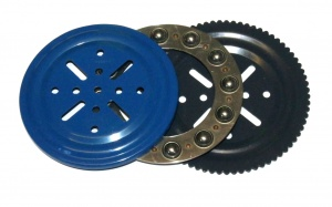 168 4'' Ball Thrust Bearing Blue / Black Original