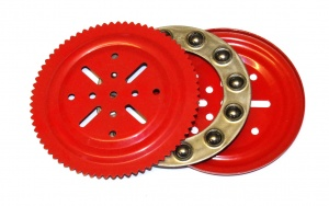 168 4'' Ball Thrust Bearing Light Red Original