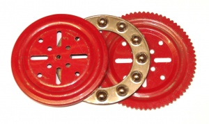 168 4'' Ball Thrust Bearing Mid Red Original