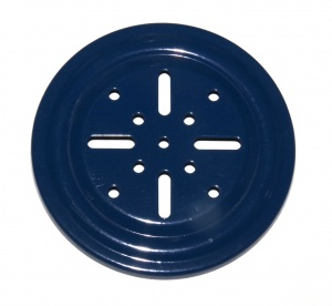 168a Thrust Bearing Flanged Disk 4'' Blue