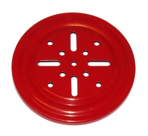 168a Thrust Bearing Flanged Disk 4'' Red